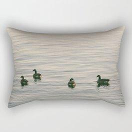 Float on Bye Rectangular Pillow