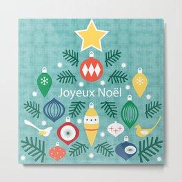 MCM Joyeux Noel Metal Print