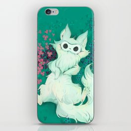 Lio The Fluffy Thing iPhone Skin