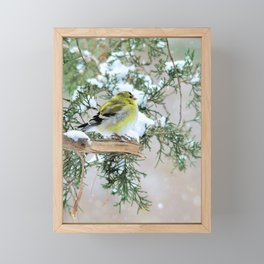 Lost in Time: April Snowstorm Framed Mini Art Print