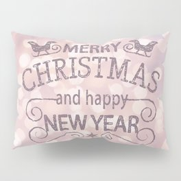 Christmas soft fairy lights Pillow Sham