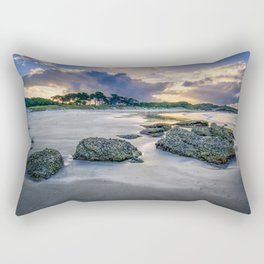 Anchor Bay Sunset Rectangular Pillow