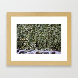 Neve em Londres Framed Art Print