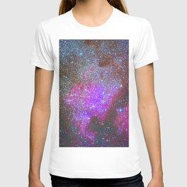 North America Nebula: Stars in the space. T-shirt