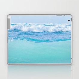 Kapukaulua Pure Blue Surf Laptop & iPad Skin