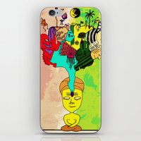 chakra iPhone & iPod Skins featuring Chakra by Omnii