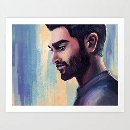 derek Art Print