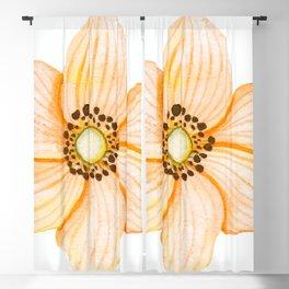 One Orange Flower Blackout Curtain