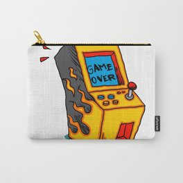 Vintage Arcade game Machine Carry-All Pouch