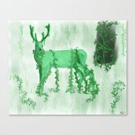 Wild Deer Canvas Print