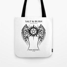 Salt & Burn Tote Bag