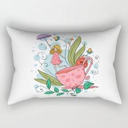 Tea Fairy Rectangular Pillow