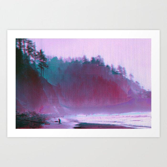 mønøglitchic_20 Art Print
