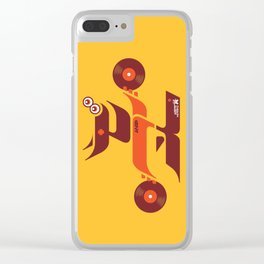 UNDO   Music to the people 01 Clear iPhone Case