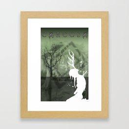 Carcosa Memory Framed Art Print