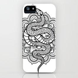 Snake Mandala iPhone Case