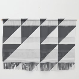 Black & White Geometry Wall Hanging
