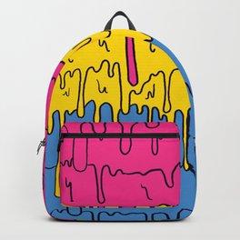 Pastel Kawaii Melting Pansexual Pride LGBTQ Design Backpack