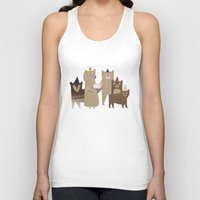 bears Tank Tops featuring BEARS by Lydia Coventry