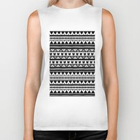 ethnic Biker Tanks featuring |Ethnic by ricardocarn