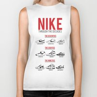 nike Biker Tanks featuring Nike Through the Decades  by halmills