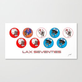 1970's Lax Champs Canvas Print