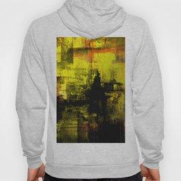 Sail Away - Abstract painting of a boat sailing into the horizon Hoody