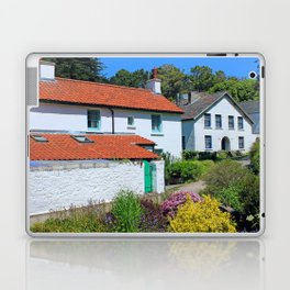 Caldey Island Village.Wales. Laptop & iPad Skin