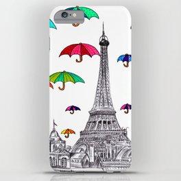 Travel with Umbrella iPhone Case