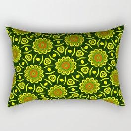 Cute ethnic floral pattern Rectangular Pillow