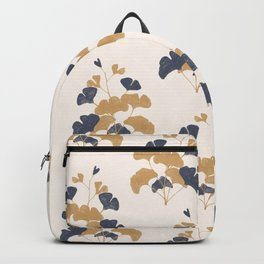 Gold Flower 1 Backpack