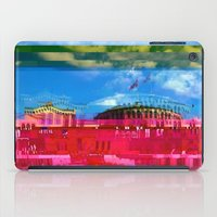oslo iPad Cases featuring Beautifully Glitched Oslo, Norway by GlitchedGirl