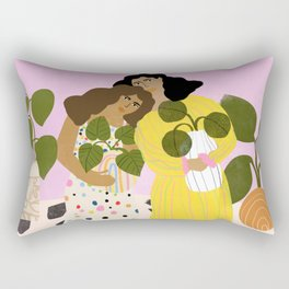 No Thanks, We Have Plants Rectangular Pillow
