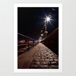 Guernsey Night Path Art Print
