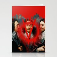 vendetta Stationery Cards featuring VENDETTA by DIVIDUS