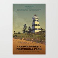 Cedar Dunes Provincial Park Canvas Print