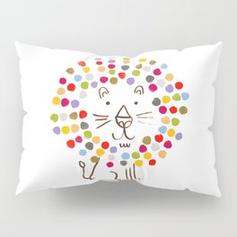 Dandy Lion Pillow Sham