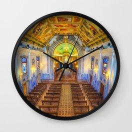interior of the church Wall Clock