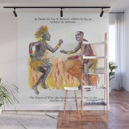 la Danse du feu / The Dance of Fire Wall Mural