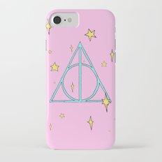 Harry potter // pastel deathly hallows Slim Case iPhone 7