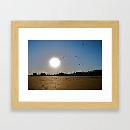 Mothers Beach Framed Art Print
