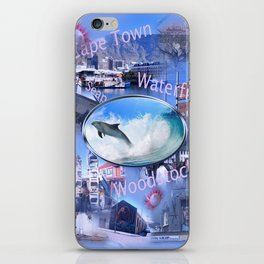 Greetings from Cape Town iPhone Skin