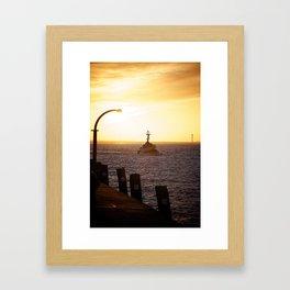Towboat Framed Art Print