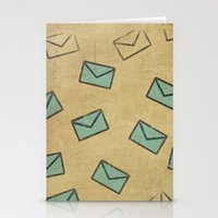 letter Stationery Cards featuring Letter by sinonelineman