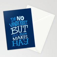 Train Makes Hay Stationery Cards