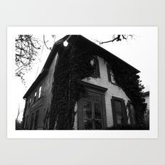 Just a house. Art Print