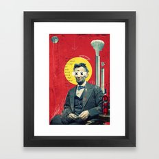 Linkin' Framed Art Print