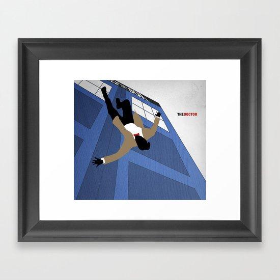 The Doctor Framed Art Print