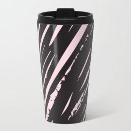 I spilled my chocolate! /geometric series Metal Travel Mug