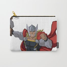 Thor and the Bird Carry-All Pouch